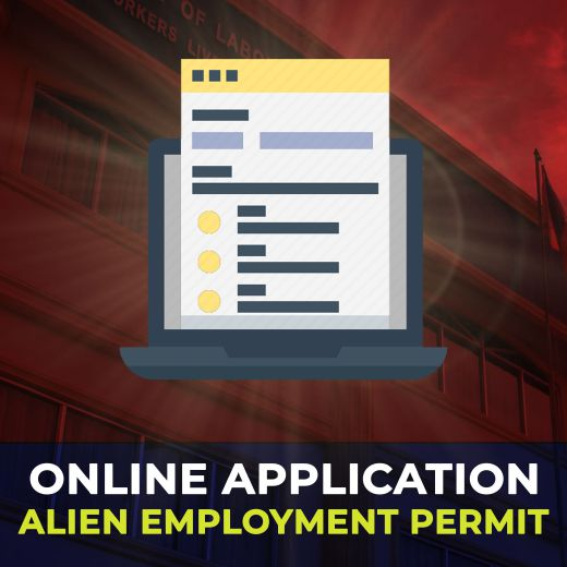 Online Application of Alien Employment Permit